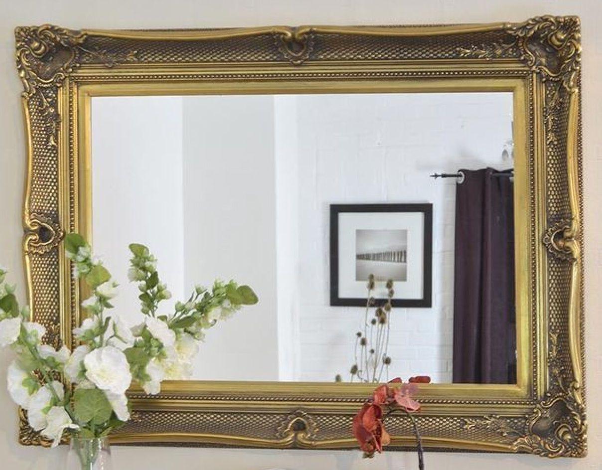 15 Sammlung von Antik Gold Spiegel Groß | Spiegel | Pinterest | Gold