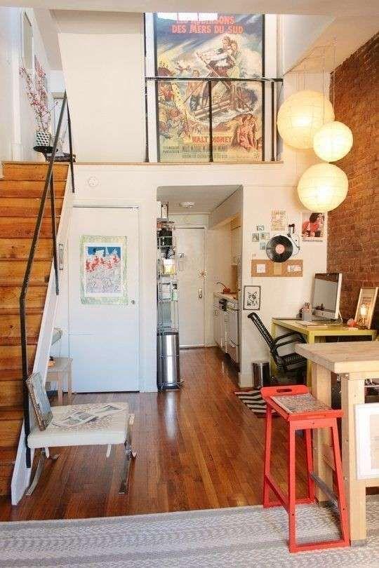 Idee Per Mini Appartamenti Interior Design Loft Arredare Il