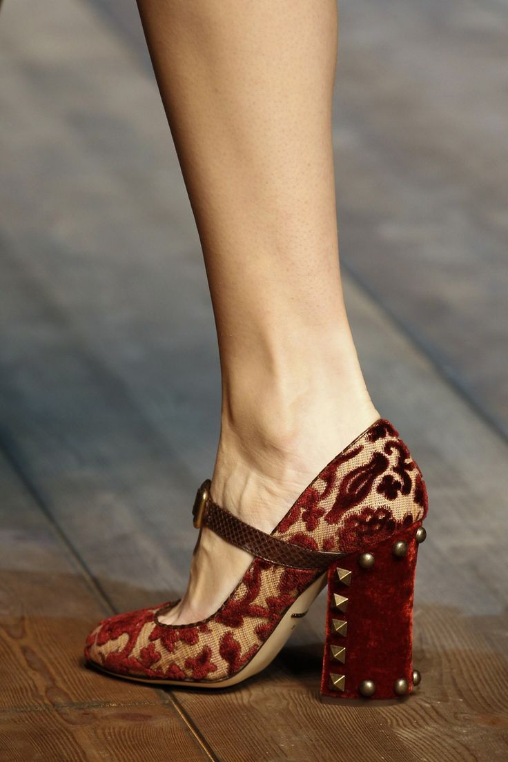 Dolce & Gabbana Autumn/Winter 2014 #shoes