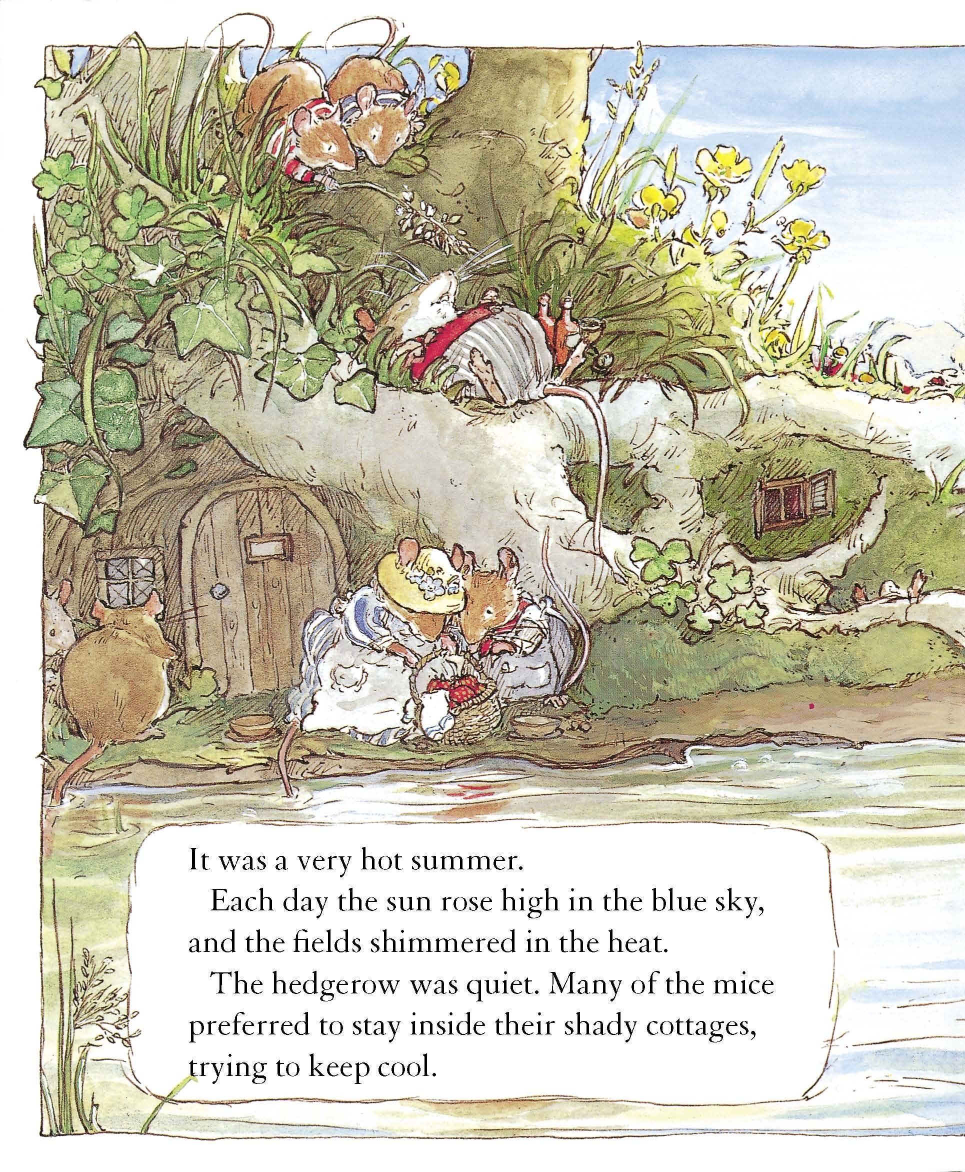 A Year in Brambly Hedge Summer Story, Mouse Illustration, Susan Wheeler, Brambly  Hedge