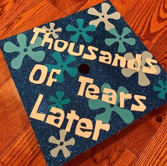 61 Funny Spongebob Graduation Caps That Are 110% Relatable ...