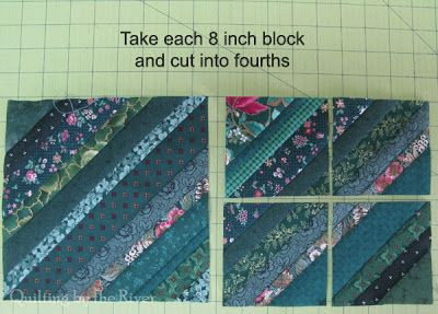 Freemotion by the River: String Bean Table Runner Tutorial