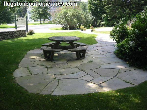 Flagstone Patio Ideas Short Rock Wall Next To Flagstone Patio I Like The  Color Of This