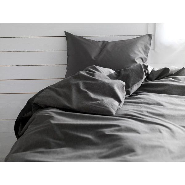 Ikea Gaspa Duvet Cover And Pillowcase S Dark Gray Black Duvet Cover Duvet Covers Duvet Cover Sets