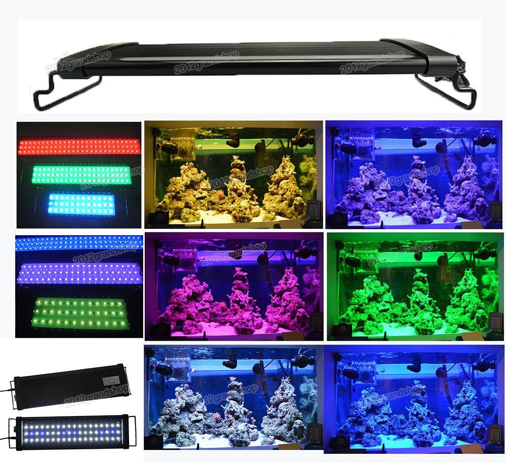 30 120 Cm Aquarium Led Lighting 1ft 2ft 3ft 4ft Marine Aqua Fish Tank Light Fish Tank Fish Tank Plants Aquarium