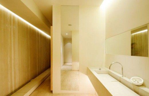 Bathroom Cove Lighting Application