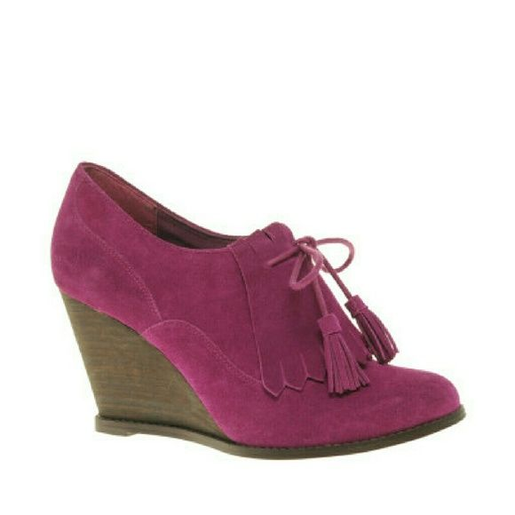 a37da79f20c0 Asos Pink Suede Tassel Wedges-bundled Pink suede tassel wedges from Asos.  In great condition. Inside says size 5. First picture from lyst Asos Shoes  Wedges
