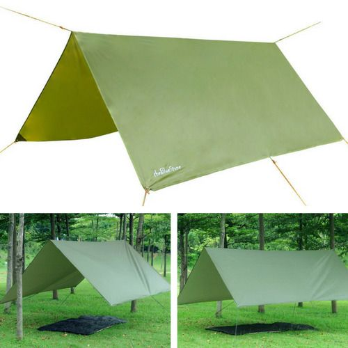 Tent Awning Canopy Tarpaulin for C&ing Outdoor Waterproof Lightweight Ripstop  sc 1 st  Pinterest & Tent Awning Canopy Tarpaulin for Camping Outdoor Waterproof ...
