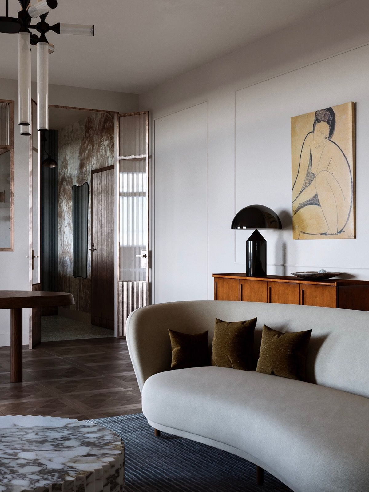 Beautiful Interiors That Combine An Old Warsaw Mood With ...