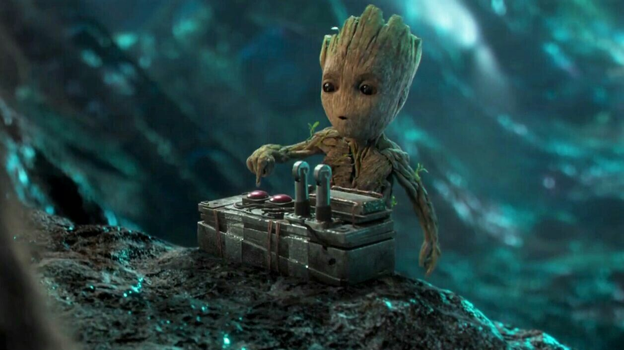 Groot Push The Button Guardians Of The Galaxy Vol 2 Guardians Of The Galaxy Baby Groot