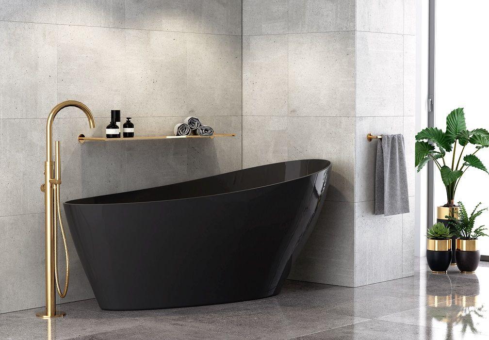 Czarna Wanna Wolnostojaca Besco Keya 165x70cm Besco Dreambathroom Wanna Wolnostojaca Mieszkaniewbloku Bathtime Bath Bathtube Cast Bathtub Design Bath