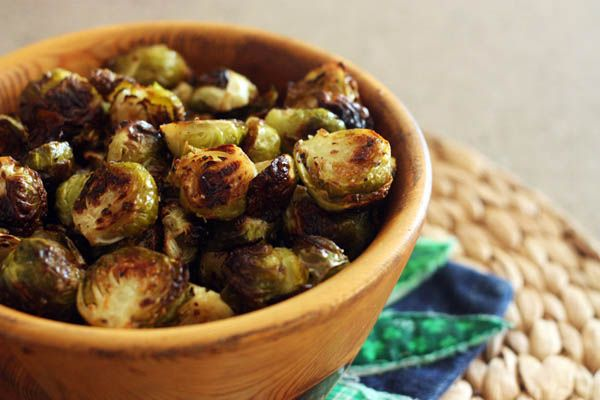 Crispy Roasted Brussels Sprouts – 30 Pounds of Apples