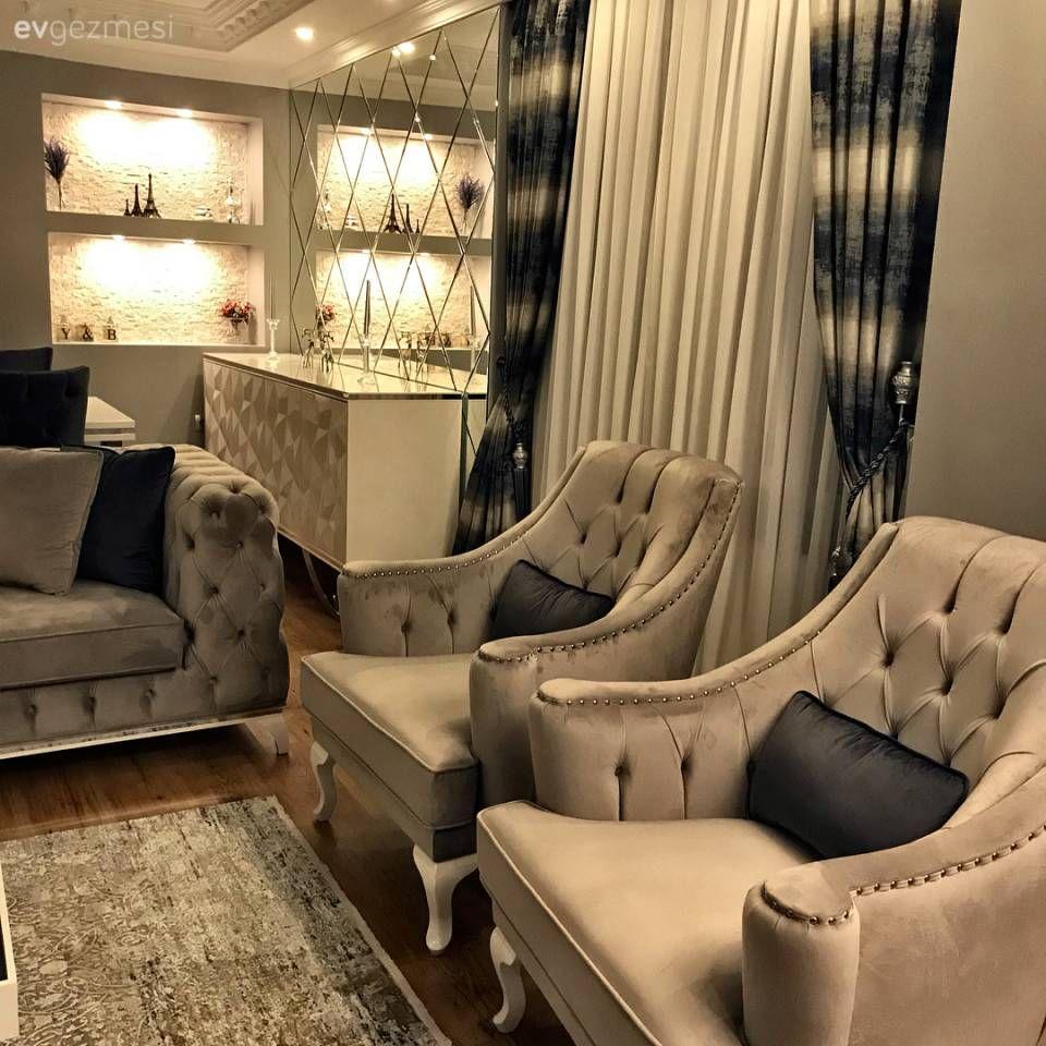 Baştan aşağı yenilenen bir salon, göz alıcı dekor. Bahar hanımın evinden.. – 5