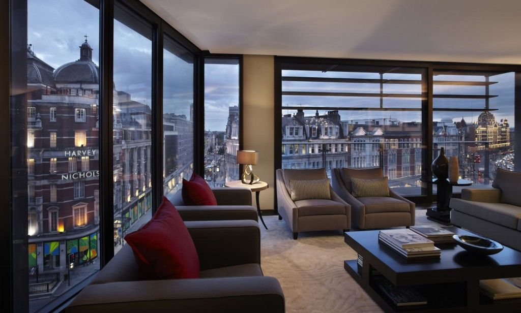 Interior Design London Apartment Living Hyde Park