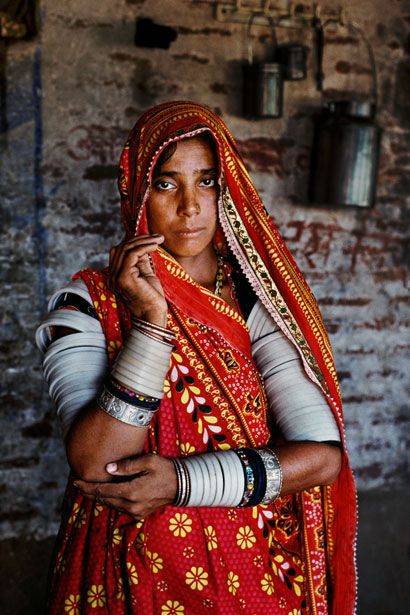 Frame 20: A Rabari woman, photographed in India, June 2010.