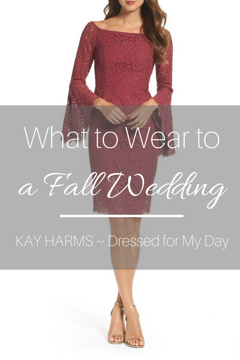 What to Wear: 15 Autumnal Dresses for a Fall Wedding