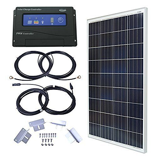 100 Watts 100w Solar Panel 12v Poly Off Grid Battery Charger For Rv Mighty Max Battery Brand Product Solar Panel Kits Solar Solar Panels For Home