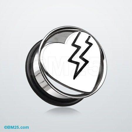 Best Silver Lightning Bolt Earrings Products on Wanelo  |Lightning Bolt Gauges