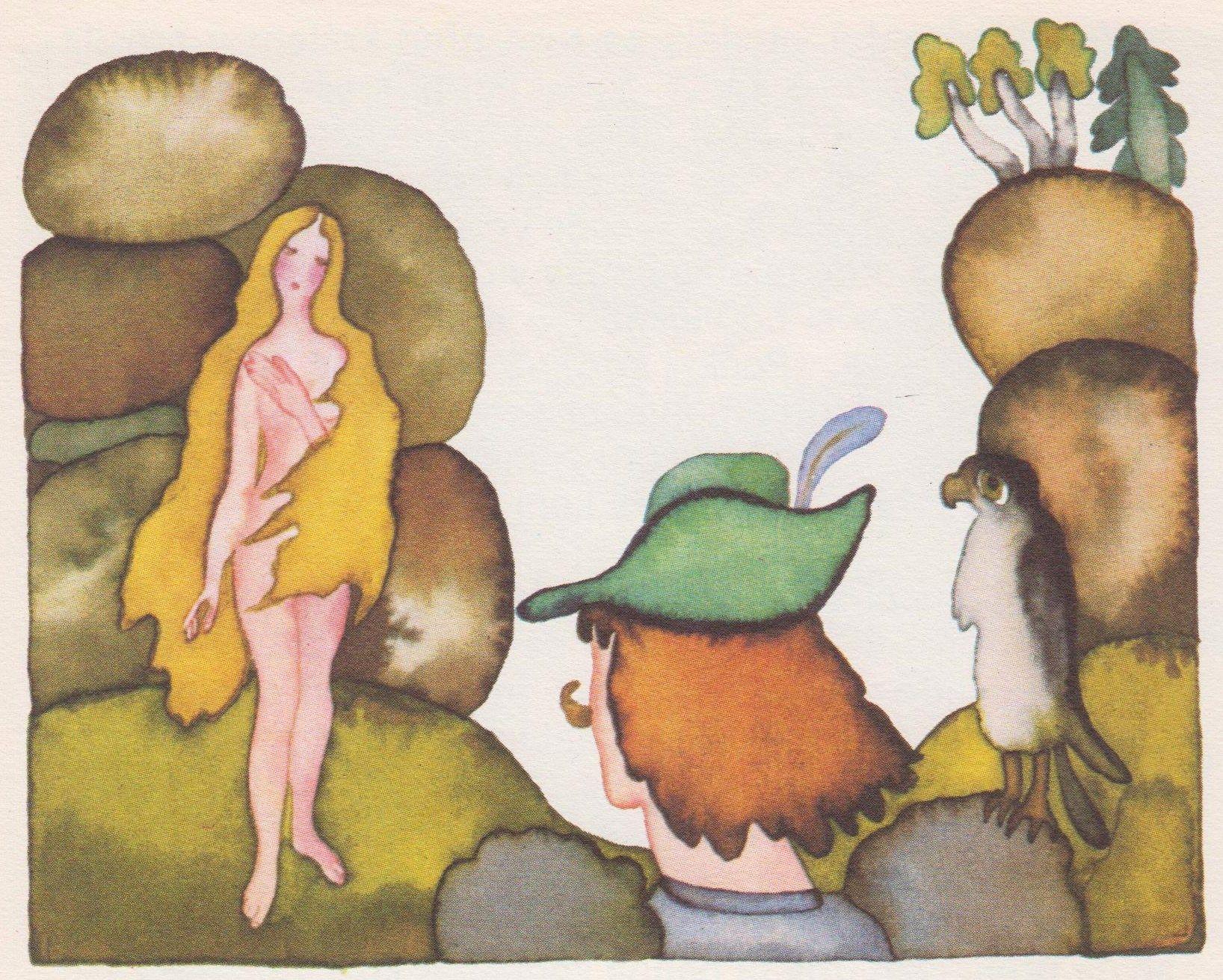 The Apple Maiden or Apple Tree Maid is known as Jabloňová Panna in Czech It is a Czech fairy tale as told by Karel Jaromr Erben