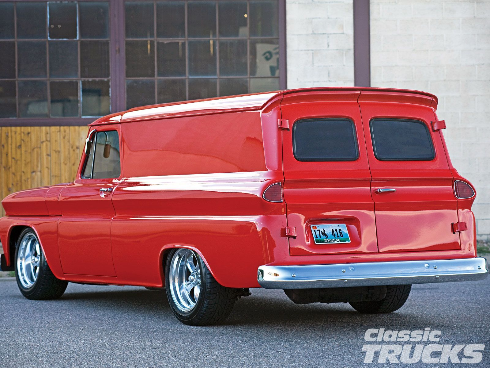 Clean Panel Truck Classic Trucks Classic Trucks Magazine