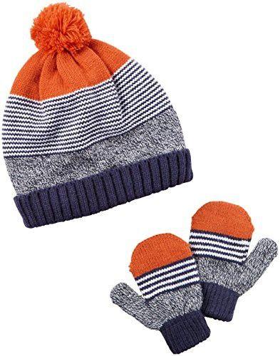c4b2607a9bd Carter s Baby Boys Winter Hat-glove Sets D08g049