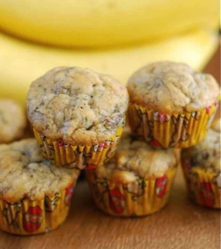 Mini banana bread muffins food pinterest mini bananas banana mini banana bread muffins forumfinder Gallery