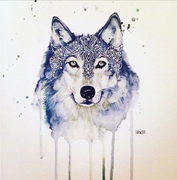 Hey, I found this really awesome Etsy listing at https://www.etsy.com/listing/291036877/bohemian-wolf-watercolour-print