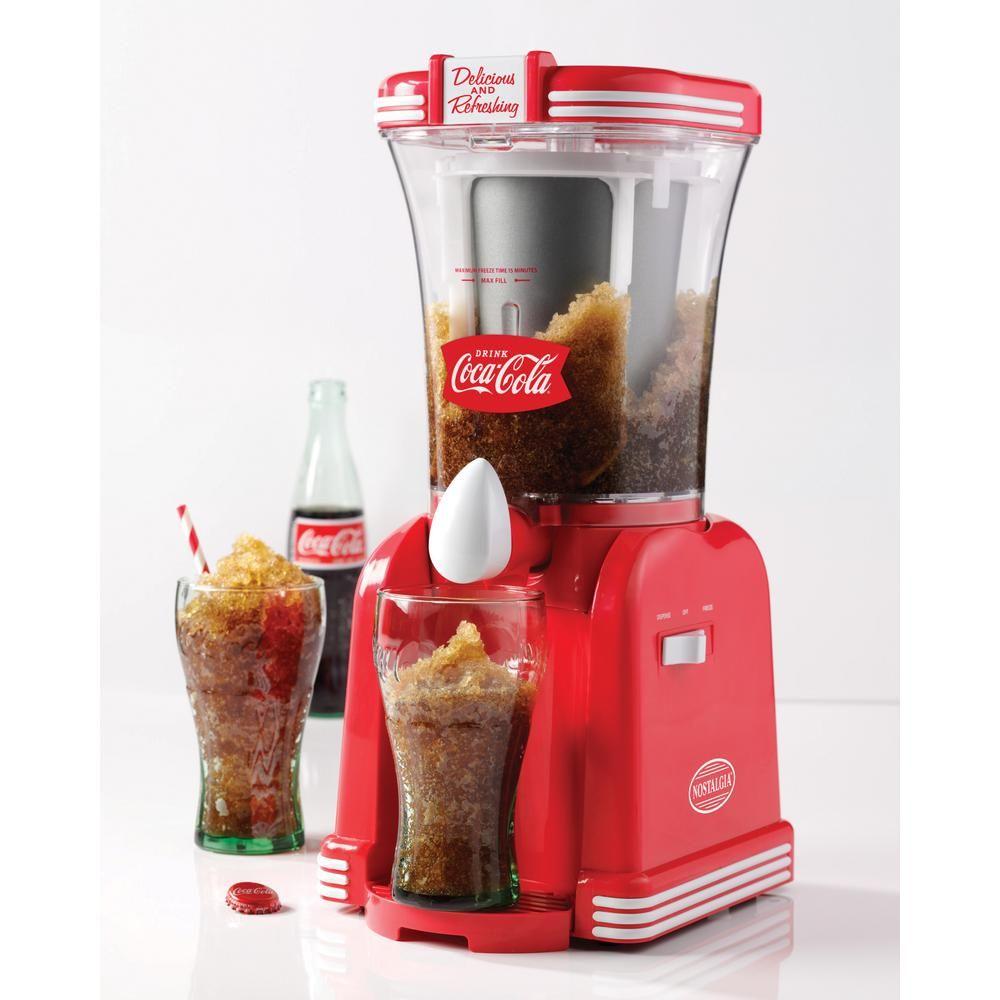 Coca-Cola 32 oz  Single Speed Red Slush Machine Blender in 2019