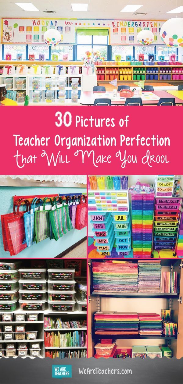 30 Pictures of Teacher Organization Perfection That Will Make You Drool is part of Small Classroom Organization - Let these amazing spaces take you to your happy place