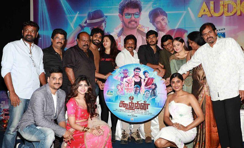 Namitha At Koothan Movie Audio Launch
