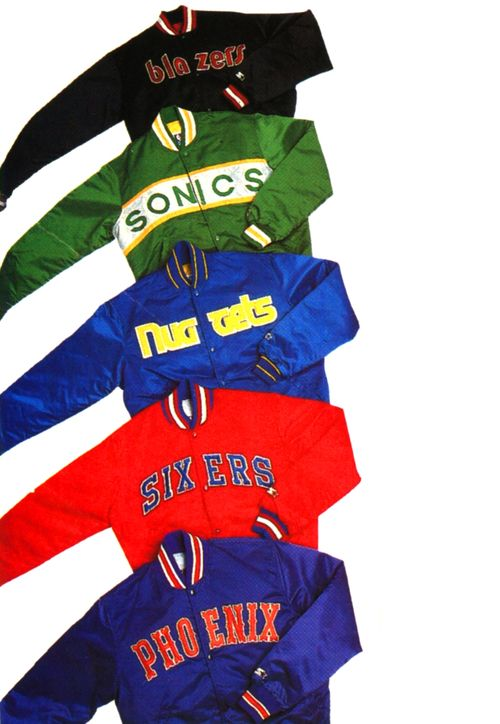 Vintage Starter Jackets Mens Street Style Nba Jacket 80s Style Jackets
