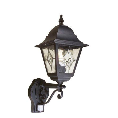outdoor wall lights with sensor modern nr1 pir norfolk outdoor wall light exterior lighting pinterest