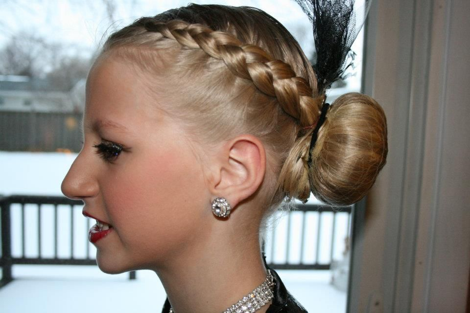Barb's Centre for Dance competition hairstyle | Dance Costume ...