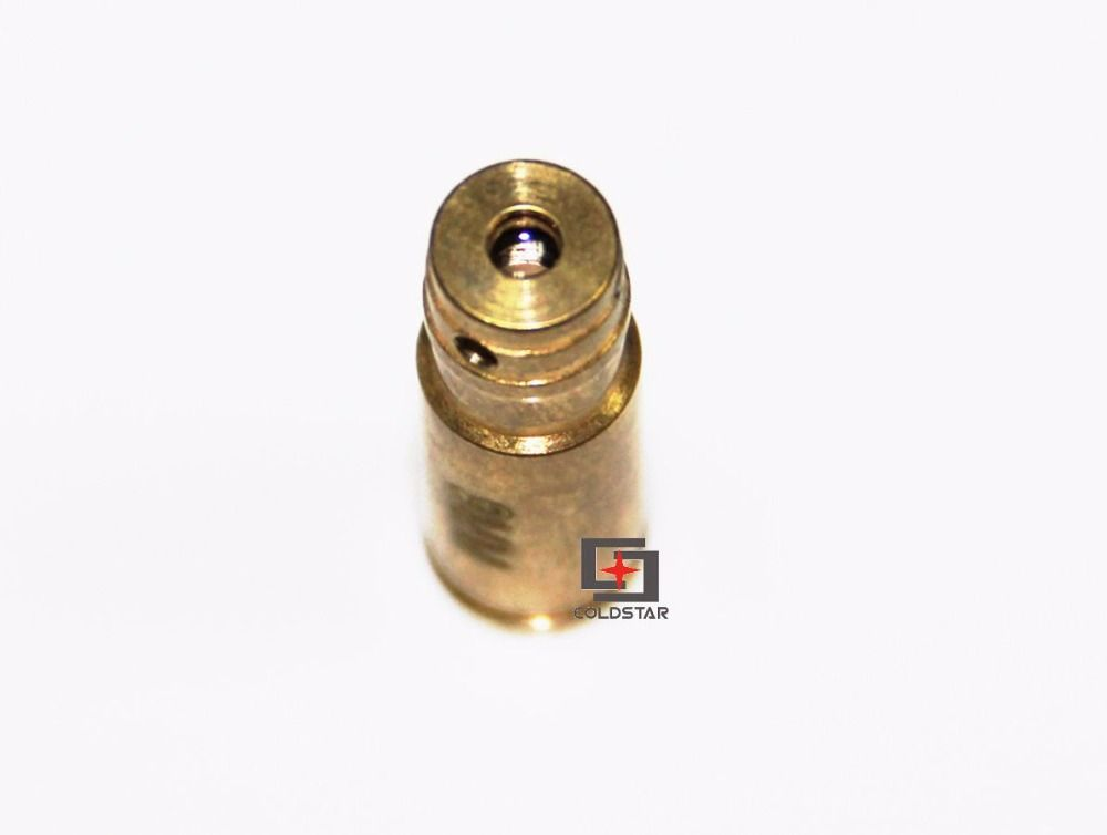 9MM Laser Bore Sight Red Laser Dot Boresighter Bore Sight Caliber Cartridge Boresight Hunting for Handguns Rifle Scope Hunting