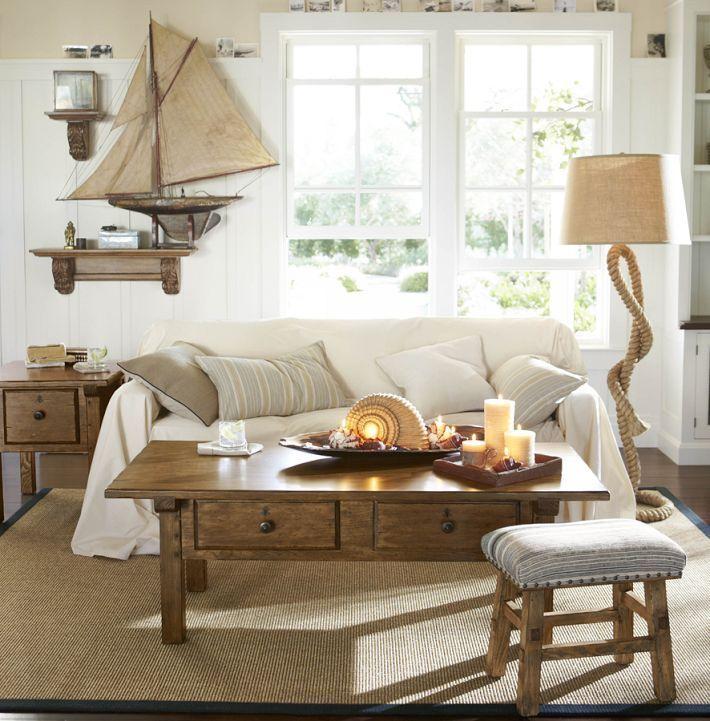 nautical home decorating ideas bej oda ev dekoru oturma odasi dekorasyonu