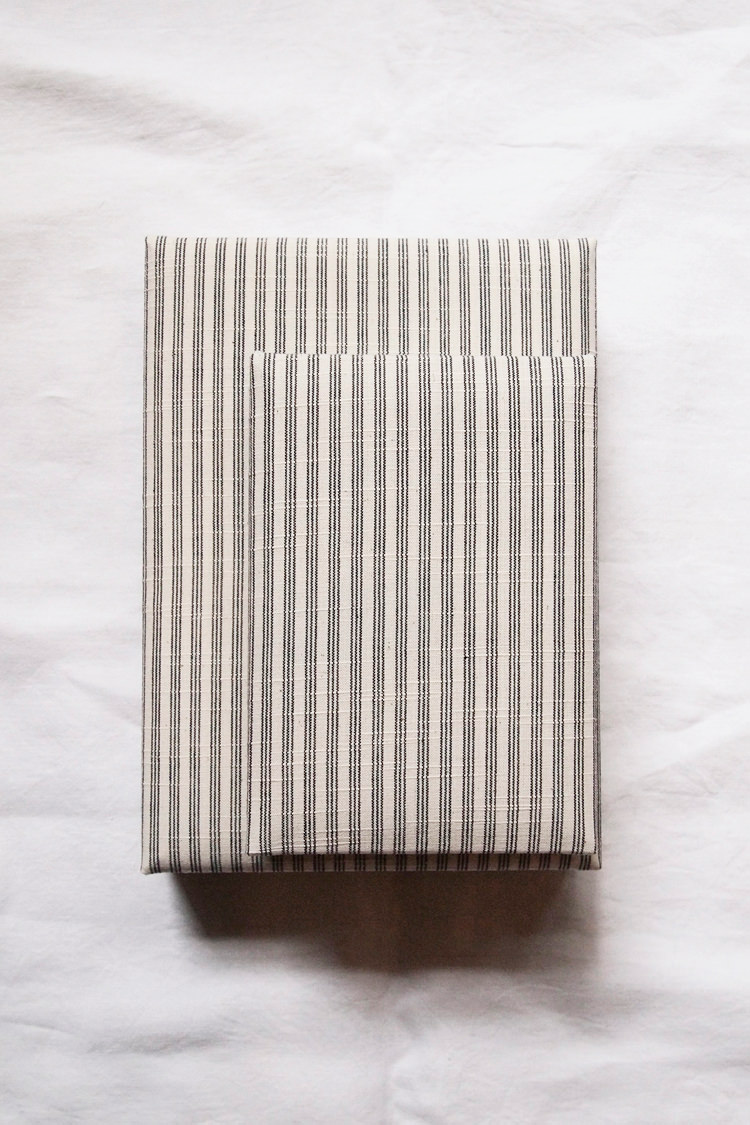 Asian fabric covered boxes