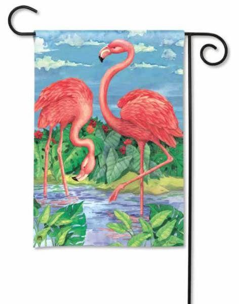 Pink Flamingo Flamingos In Paradise House Flag 28 X 40 96811