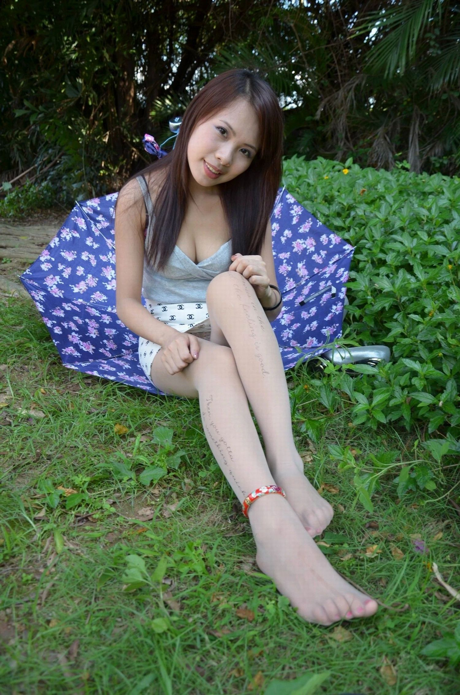 Looks much chinnese in pantyhose more videos