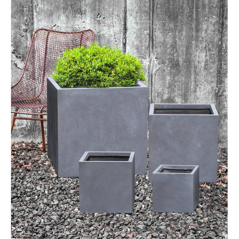 Modern Concrete Pot Planter Concrete Pots Planters Concrete