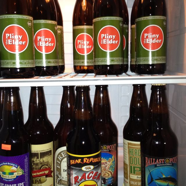 Stocked. Pliny and more.