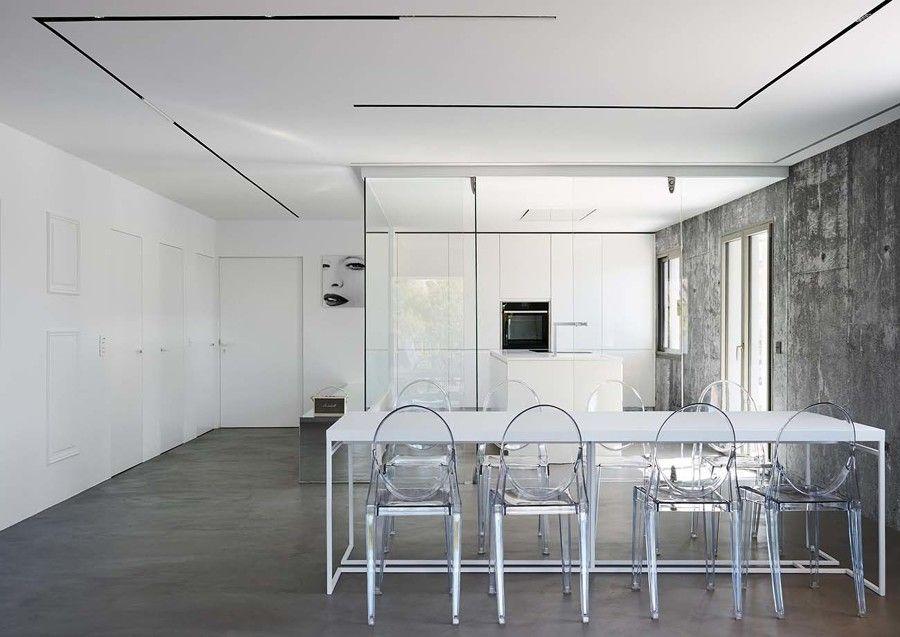 El antes y después de una vivienda que se convirtió en minimalista  #hogarhabitissimo
