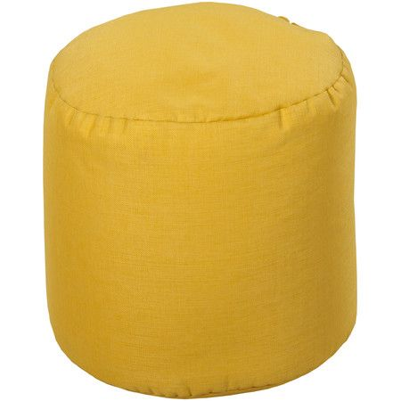 Isla Indoor/Outdoor Pouf in Squash  at Joss and Main