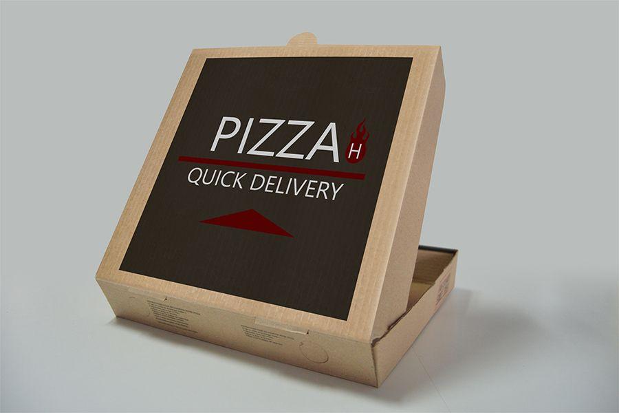 Download Pizza Box Free PSD Mockup