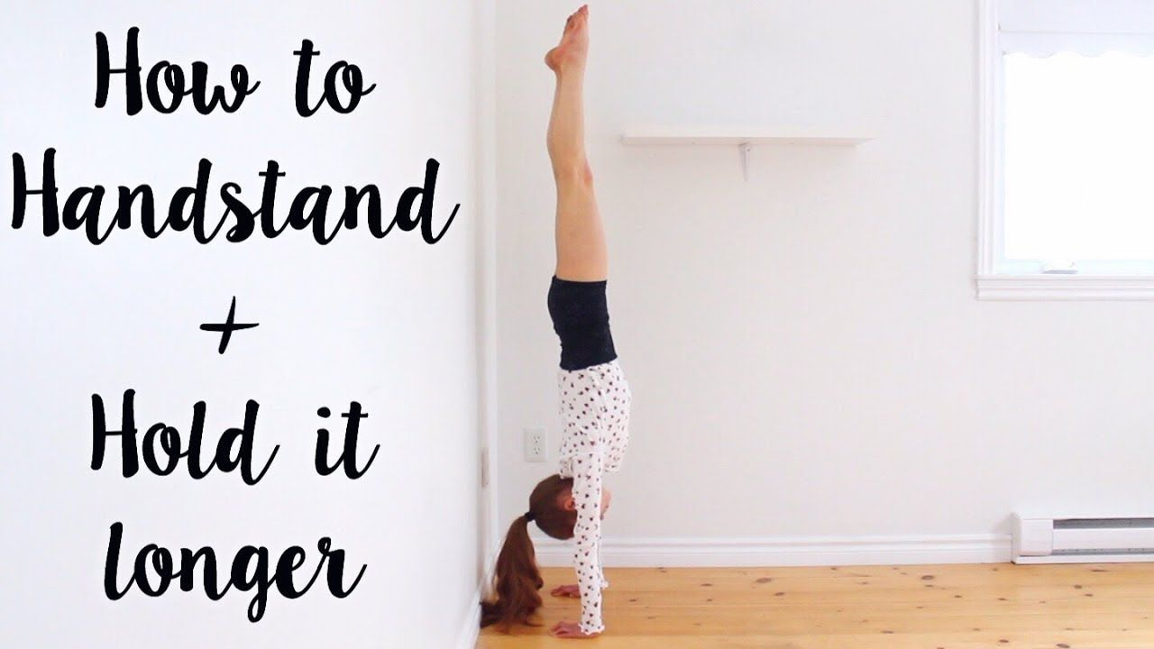 How to do a Handstand YouTube in 2020 Gymnastics