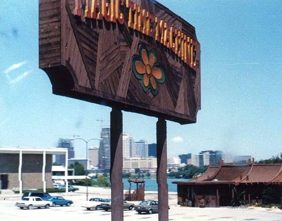 Magic Time Machine (1980s) on Riverside Drive, Austin TX ...