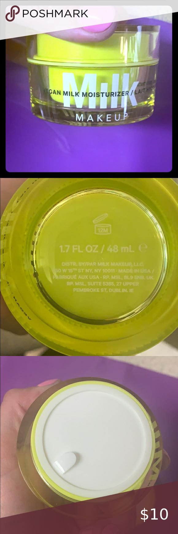 Milk make up vegan moisturizer in 2020 Vegan moisturizer