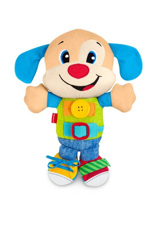 Fisher Price Laugh Learn Learn To Dress Puppy English Edition