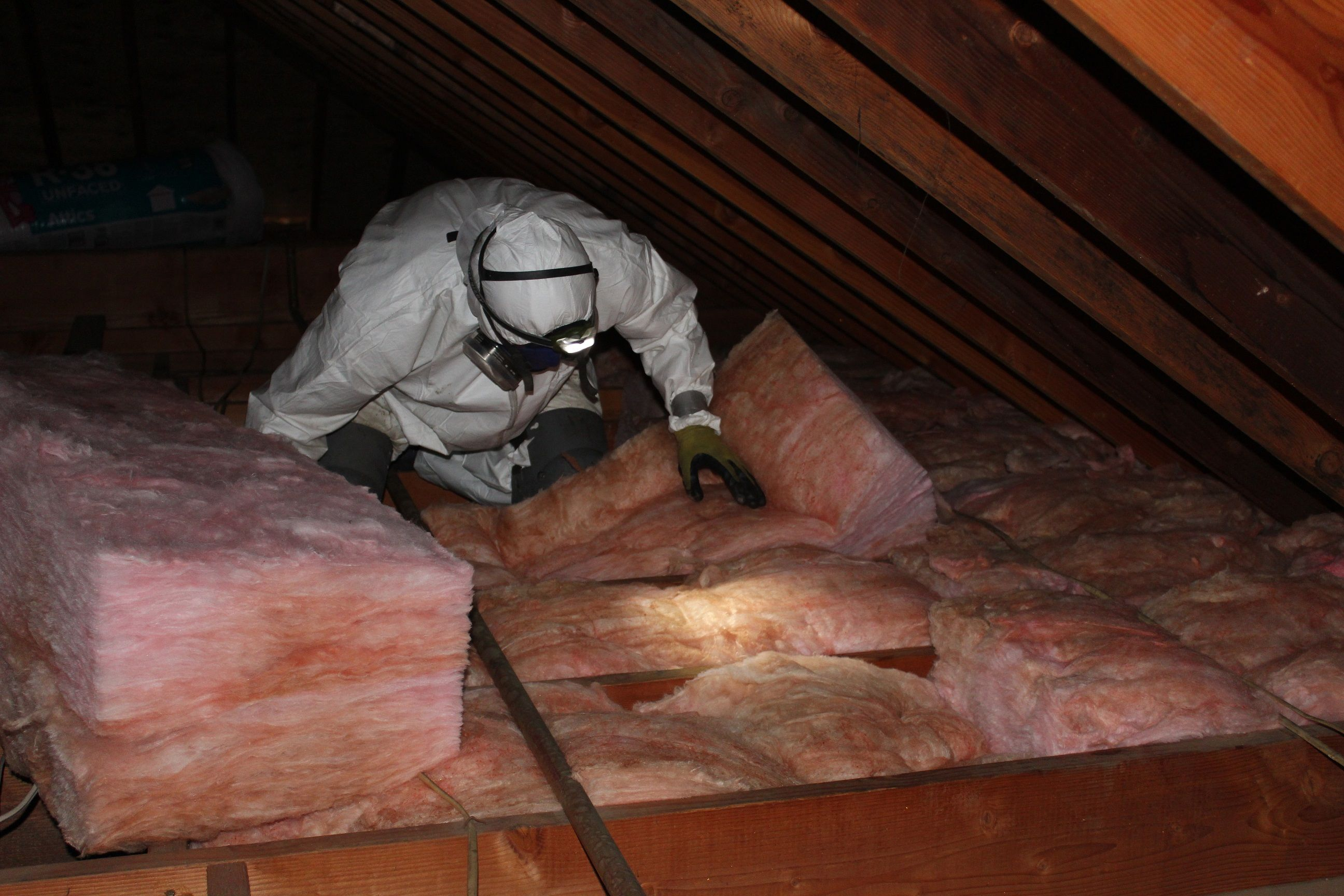 On Top Of New Attic Insulation We Also Offer Attic Cleaning Air Duct Replacement Rodent Proofin Attic Insulation Removal Insulation Removal Attic Insulation