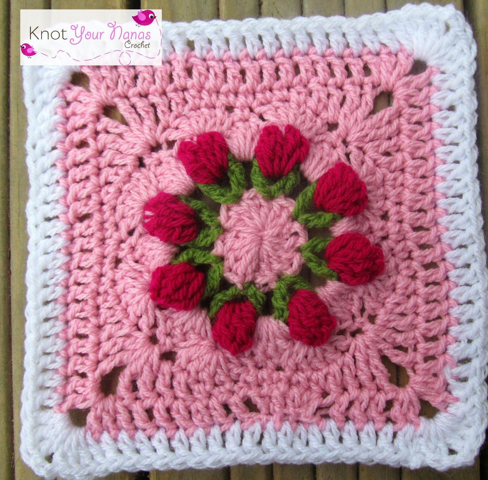 african flower granny square - Google\'da Ara | kare motifler ...