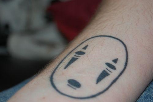 Body Decoration Movie Inspired Tattoos Tattoos Face Tattoo Spirited Away Tattoo